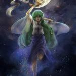東方月齢暦 弓張月